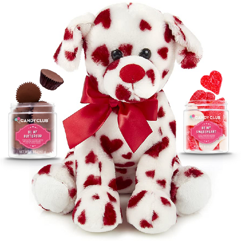 Red Dog with 2 Candy Set