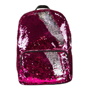 Pink/Silver Magic Sequin Backpack