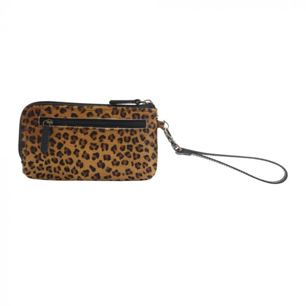 Myra Wild Dream Leather and Hairon Wallet