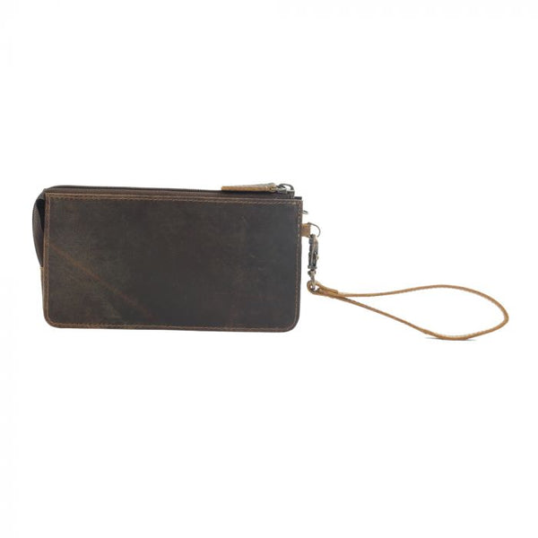 Myra Perfect Tan Leather Wallet