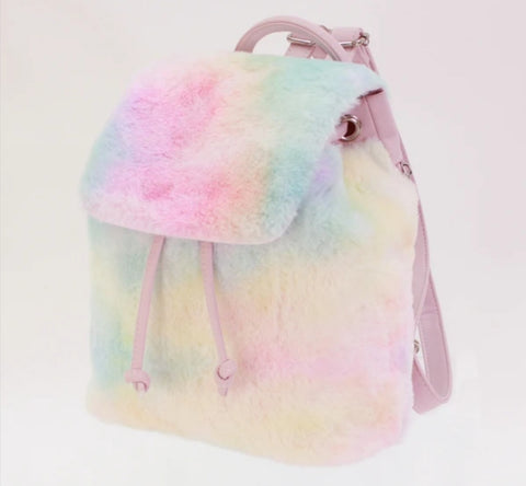 Rainbow Fur Trip Bag