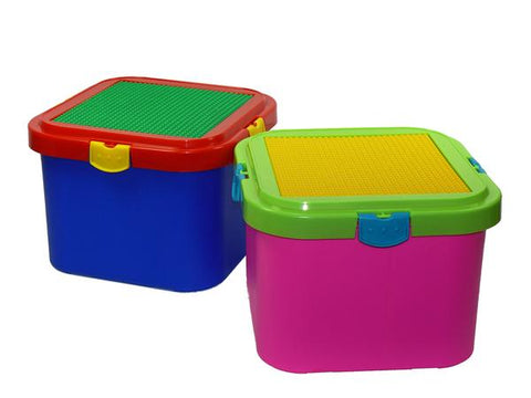 Block N Lock Toy Box