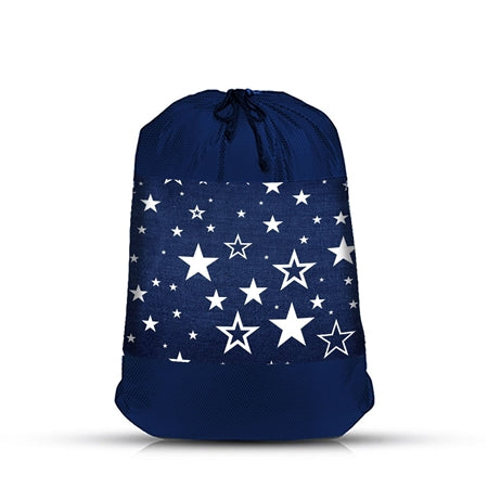 Navy Star Laundry/Sock Bag Set