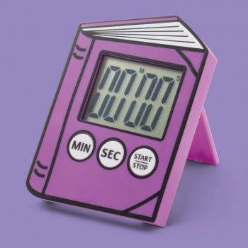 Reading Timer Purple
