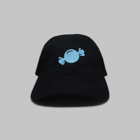 Candy Logo - Black - Dad Hat