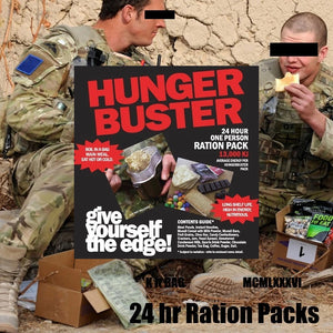 soldiers eating rations 24 hour MRE Australia