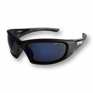 Eyres Tactical Bercy Matt Black Frame Polarised Blue Mirror Lens