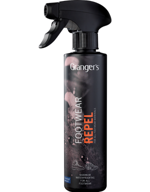 Grangers Footwear Repel Water Proofing for Boots 275ml, Grangers Footwear Repel Water Proofing for Boots 275ml