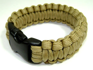 RECON Para Cord Tactical Wrist Band - ATAC and Tan