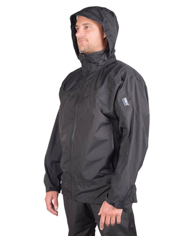 360 Degrees Stratus Unisex Waterproof Jacket
