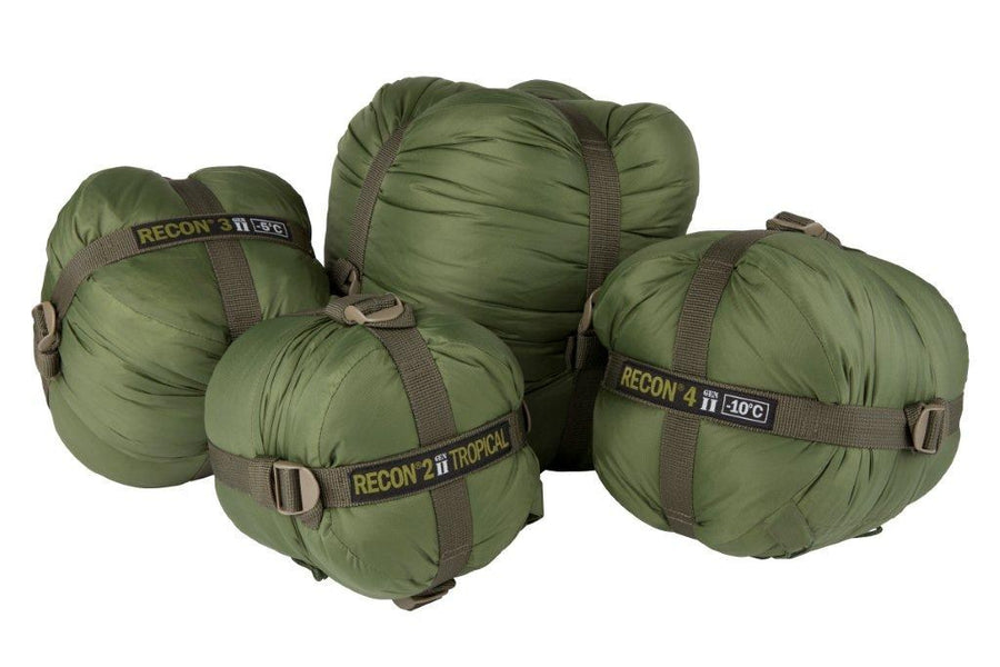 RECON 3 Gen II Lightweight Military Sleeping Bag -5c, RECON 3 Gen II Lightweight Military Sleeping Bag -5c