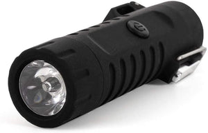 Tactical Waterproof Dual Arc Plasma Lighter With LED Tri-Phase Flashlight