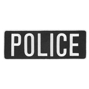 5.11 TACTICAL POLICE PATCH - BLACK