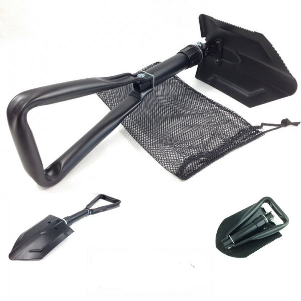 Army Style Tri Fold Mini Folding Shovel, Army Style Tri Fold Mini Folding Shovel