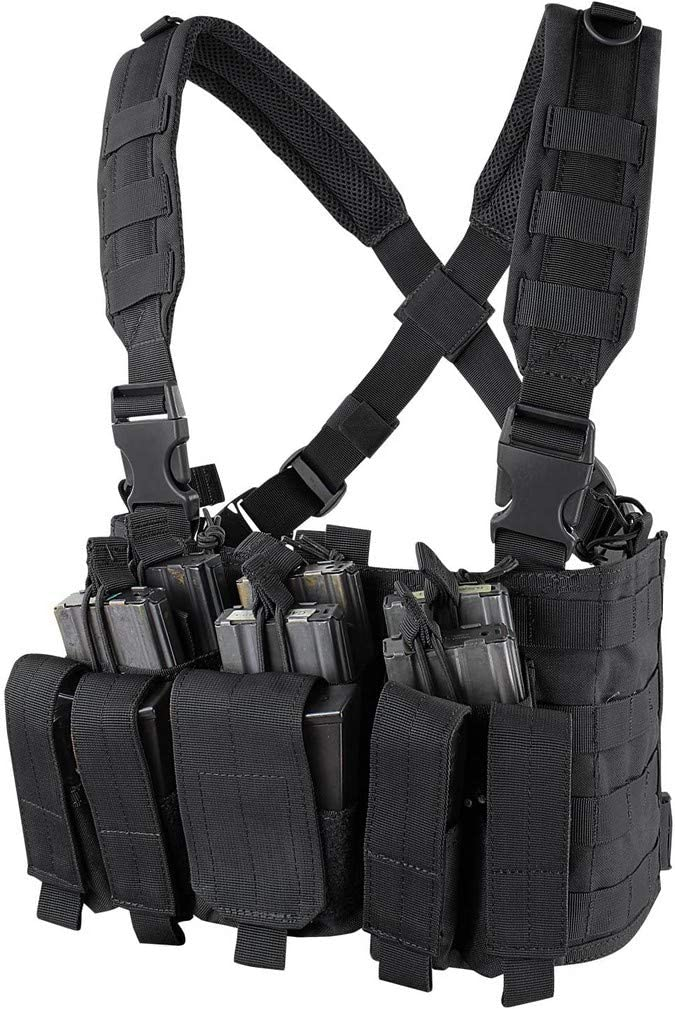 RECON M21 Tactical Combat Recon Chest Rig Vests MOLLE System