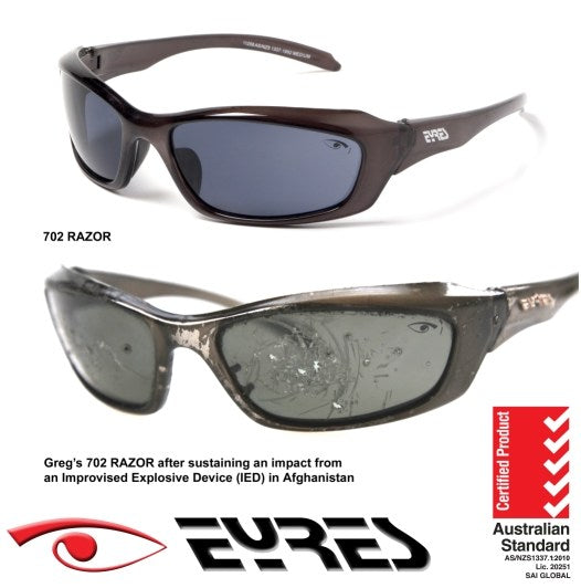 Eyres Razor Polar-X 702-C8 Polarized Safety Sunglasses