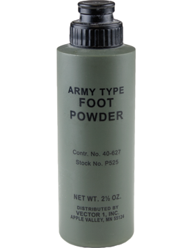 Army Genuine issue Foot PowderArmy Genuine issue Foot Powder