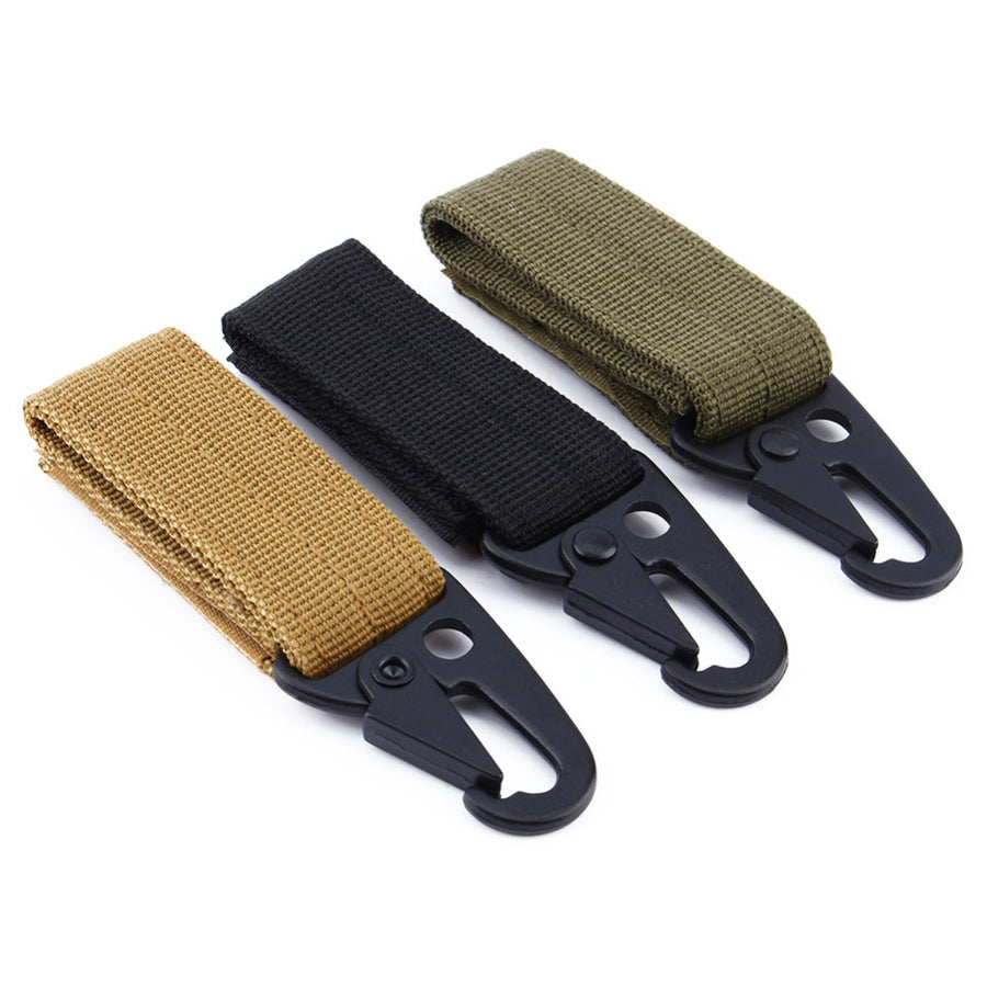RECON High Strength Nylon MOLLE Webbing Buckle Key Hook, RECON High Strength Nylon MOLLE Webbing Buckle Key Hook
