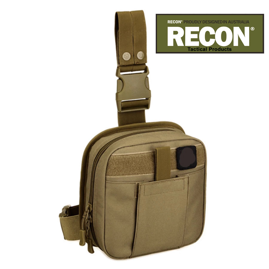 RECON Tactical Drop Leg MOLLE Pouch Utility