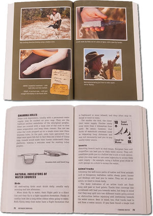 "Bob Cooper Survival Book ""Outback Survival"" by Bob Cooper"