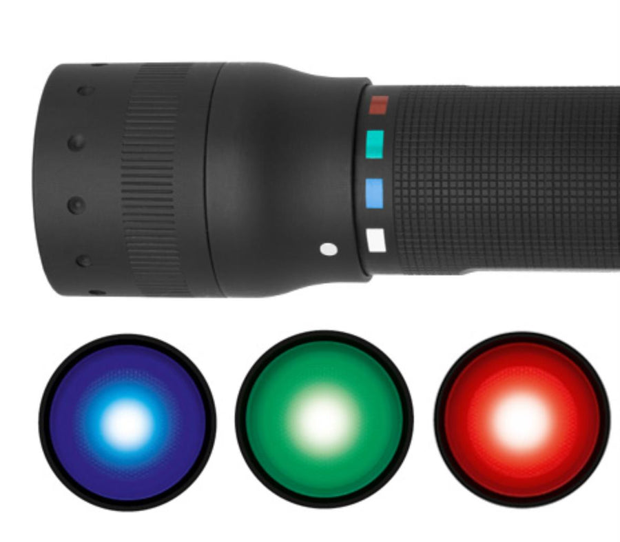 LED Lenser P7QC  QUATTRO Flashlight