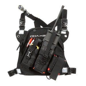 DR-1 Commander dual radio chest harness