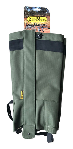 Rugged Extremes Leg Gaiters X 2 Pairs Bundle save $10