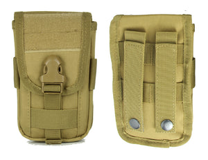 RECON Tactical Molle Phone Pouch Holder Holster 600D