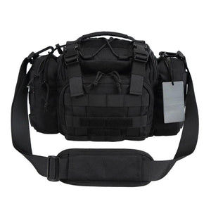 RECON Tactical MOLLE Waist Pack Multi-Function Modular Utility Bag Heavy Duty with Waist strap