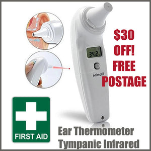 Ear thermometer tympanic Infrared - kit bag Perth
