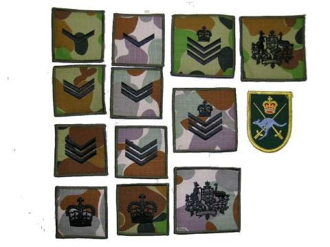 Badges Of Rank & Insignia, Badges Of Rank & Insignia