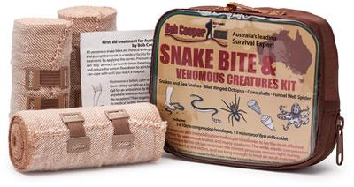 Bush anti snake gators & Snake bite first aid kit combo