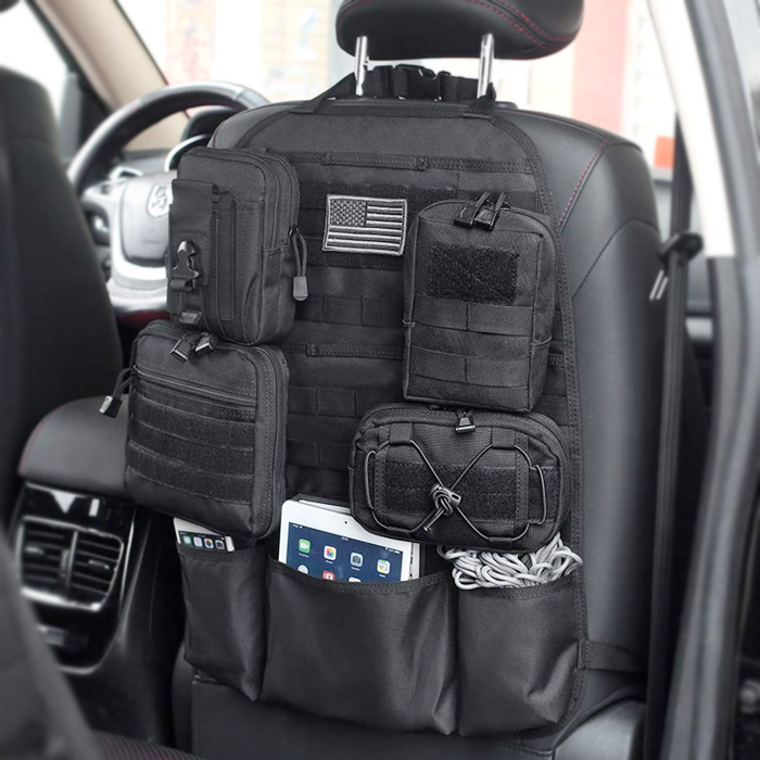 RECON Tactical MOLLE vehicle seat organizer