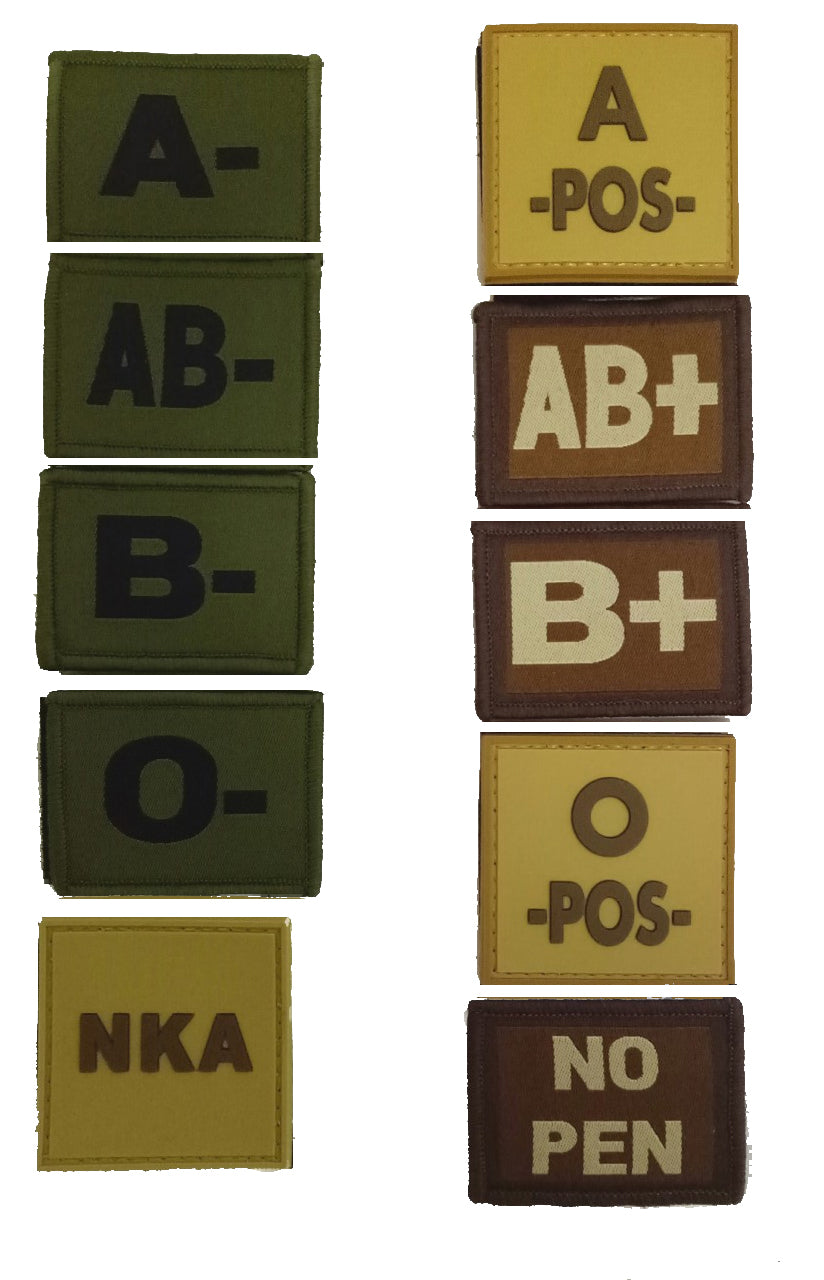 Blood Group Patches
