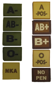 Blood Group Patches, Blood Group Patches
