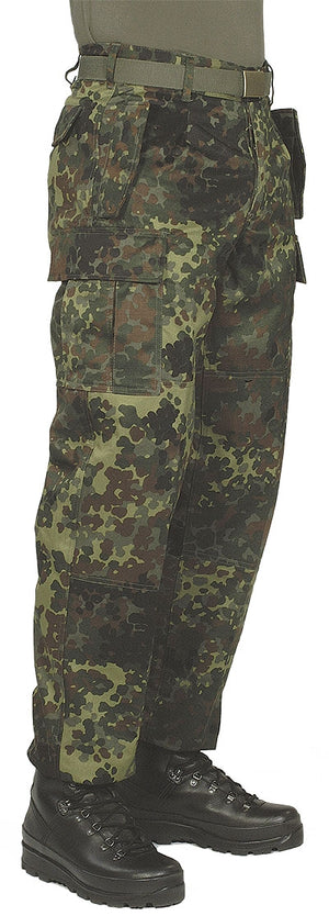 MILITARY SURPLUS GERMAN FLECKTARN CAMO PANTS