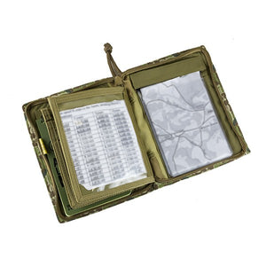 Platatac Brit Zip Field Side Opening Note Book Cover