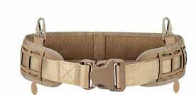 RECON MOLLE Multi-Purpose light weight low profile Waist Belt pad, laser cut