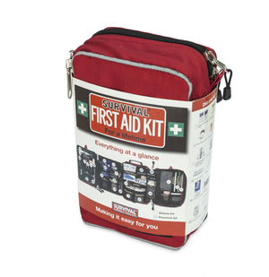 Australian TGA approved Survival Premium First Aid Kit for Home, Workplace or Outdoors