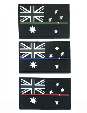 RECON Thin Line Australian Service Flag Patches, RECON Thin Line Australian Service Flag Patches