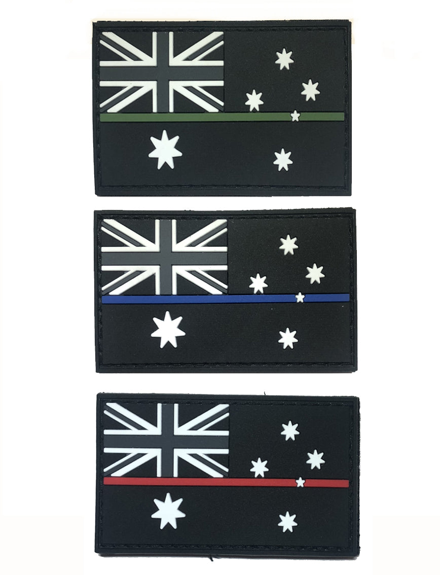 Australian service flag patch