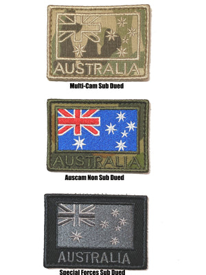 Australian Flag Patches, Kit Bag Perth