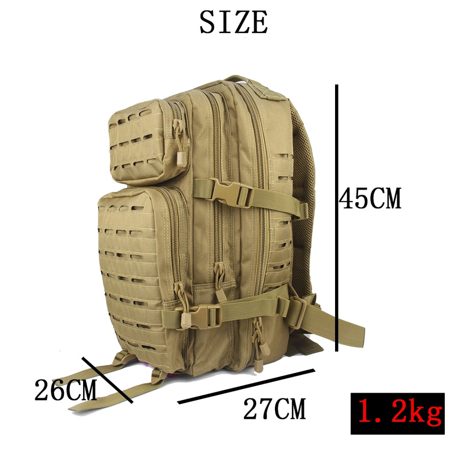 RECON 30 L Laser Cut MOLLE Tactical Back Pack