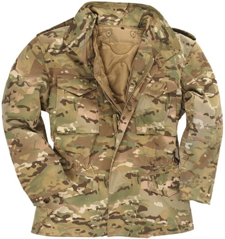 M65 Field Jacket with liner Multi Cam