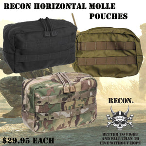 RECON 600D Horizontal Molle Pouch