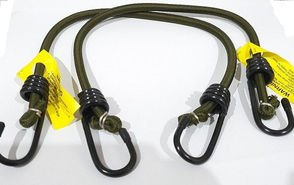 Olive Ocky Bungee Straps Pack of 2, Olive Ocky Bungee Straps Pack of 2