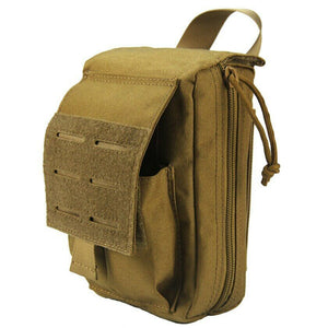 RECON MOLLE Tactical Utility or Trauma/IFAK Laser cut pouch