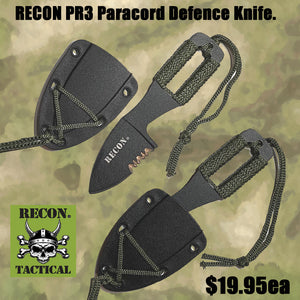 RECON PR3 Paracord Defence Knife