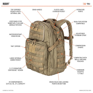 5.11 Rush 24 Back Pack kit bag perth