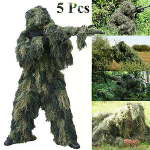 Jackal 3D Full Ghillie Suit, Jackal 3D Full Ghillie Suit